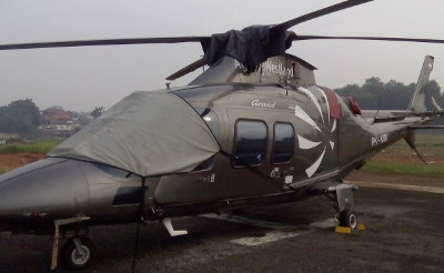Twin Engine Helicopter